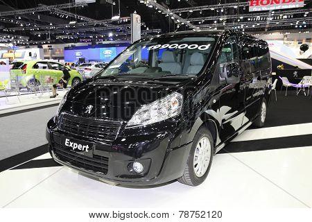 Bangkok - November 28: Peugeot Expert Car On Display At The Motor Expo 2014 On November 28, 2014 In