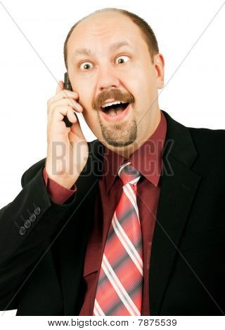 Laughing Businessman