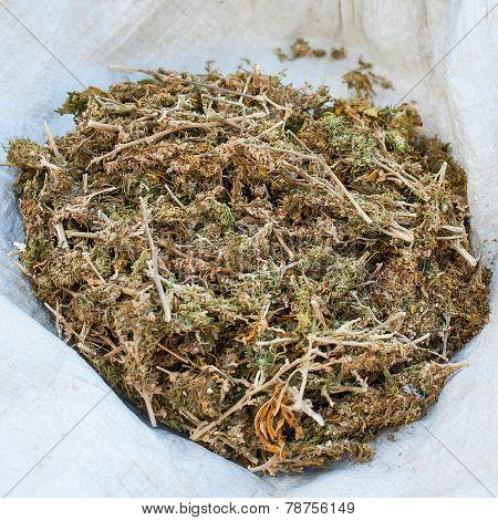 Pile Of Marihuana