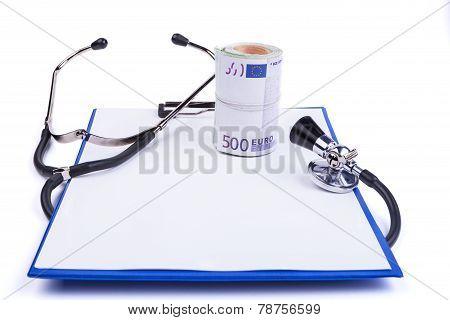 Blue Clipboard