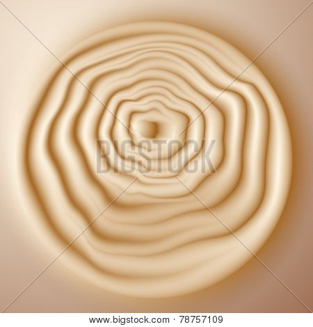 Paper desing. Abstract tree rings background.