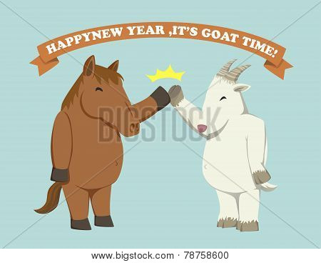 Happy New Year,it's Goat Time!