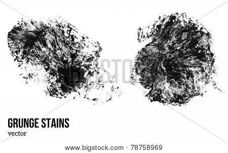 Grunge texture. Vector illustration. Watercolor abstract background.