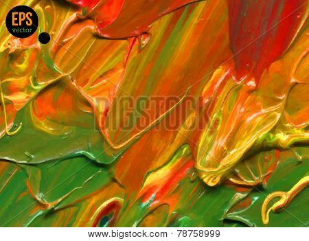 Abstract acrylic painted background.