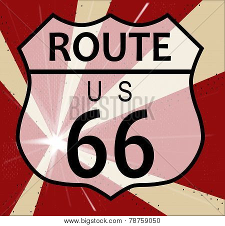 Route 66 Splash