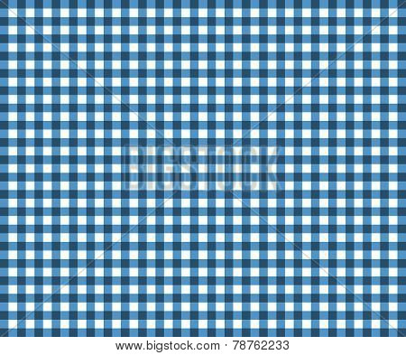 Traditional blue Tablecloth texture