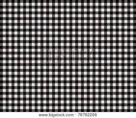Traditional black Tablecloth texture
