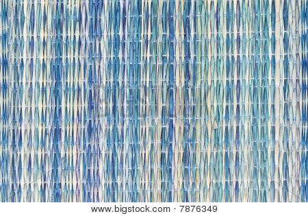 Colorful Straw Placemat Background Or Texture