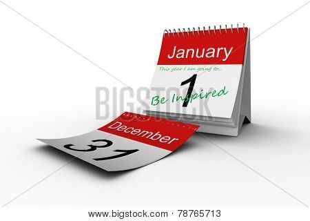 this year i am going to against december page falling from calendar