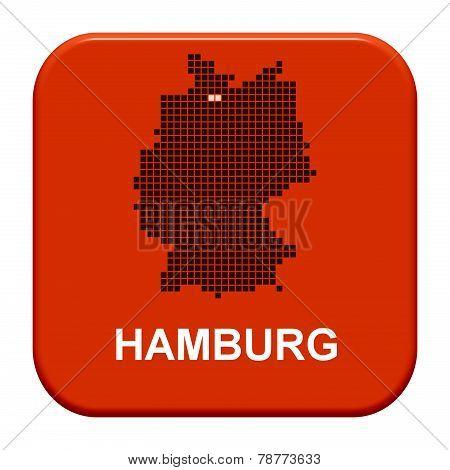 Red Button: German city hamburg