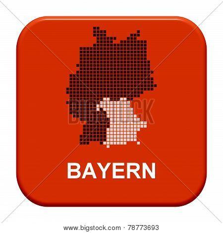 Red Button: German Region bavaria