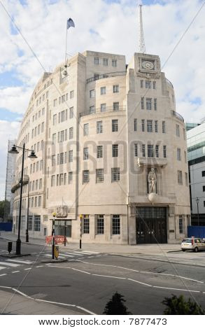 Broadcasting House, The BBC's Corporate Headquarters, And Home Of Bbc Radio, Portland Place, London