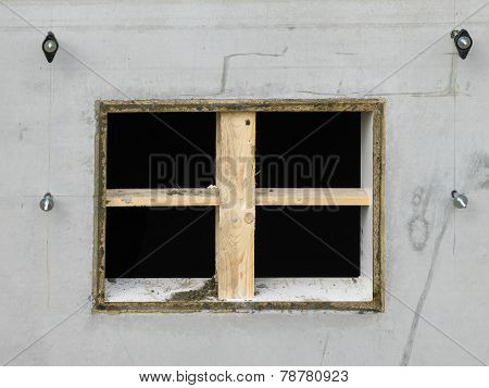 Recess For A Cellar Window