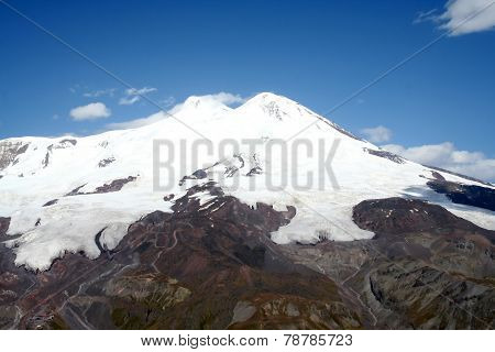 Elbrus - The Highest Mountain In Europe