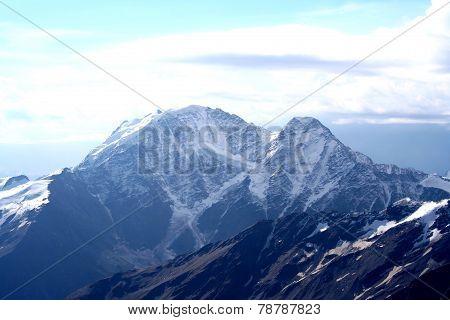 Gloomy Mountain Landscape