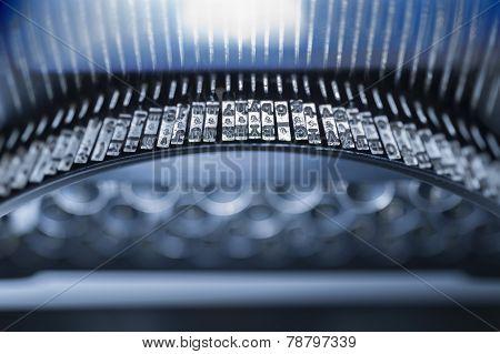 Typewriter keys and type