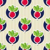 picture of radish  - radish pattern - JPG