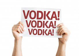 stock photo of vodka  - Vodka - JPG
