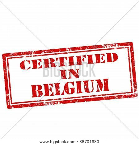 Certified In Belgium-stamp