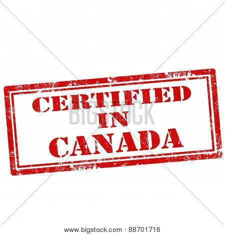 Certified In Canada-stamp