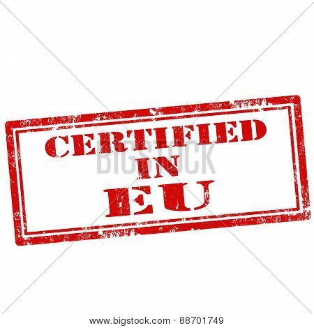 Certified In Eu-stamp