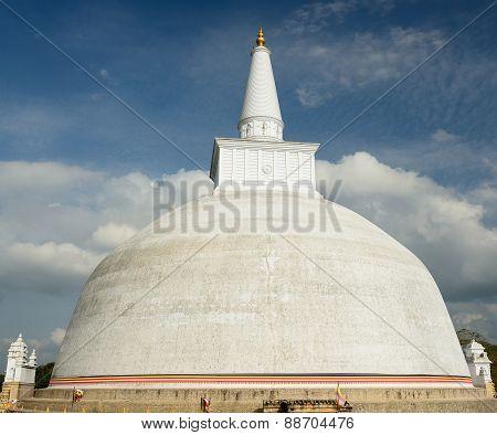Anuradhapura Ruin, Mirisavatiya Dagoba Stupa, Sri Lanka
