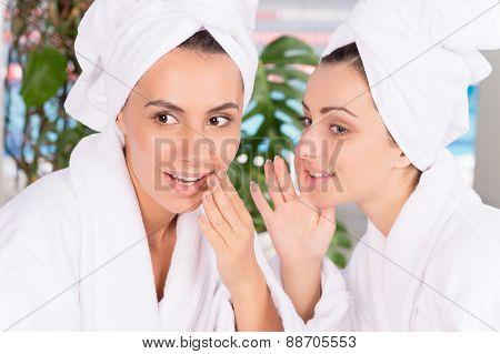 Women At Spa.