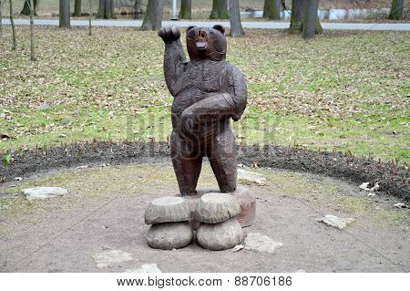Bear (wooden one)