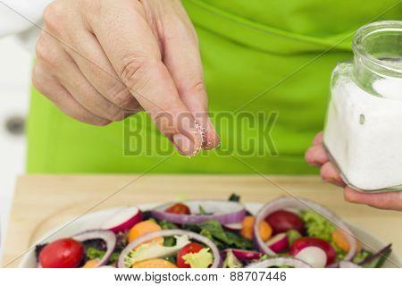 Salting Salad