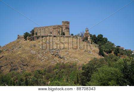 Monastery At Aracena, Huelva, Andalusia, Spain