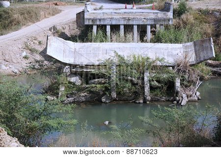 Destroyed Of Bridge