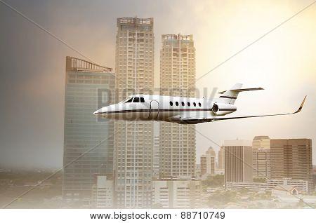 Jet Plane Flying