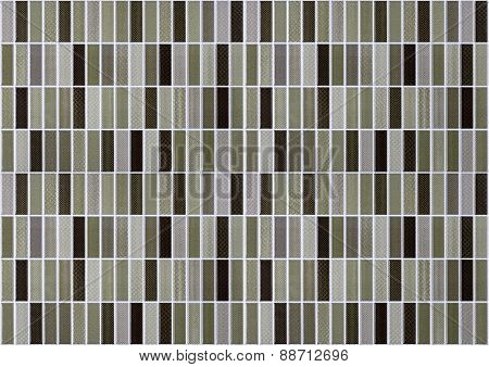 small rectangular tiles with color effects seamless