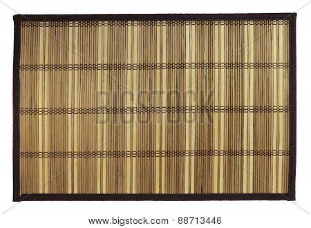 mat of straw