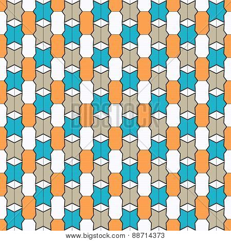 Fine Geometric Seamless Pattern