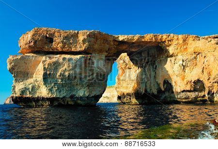 Gozo Azure Window Height Malta