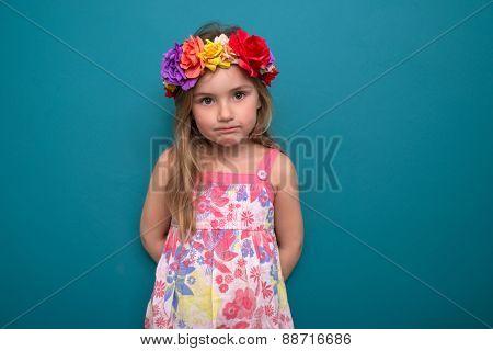 sweet little cute girl