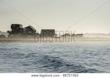 Beach In Mist