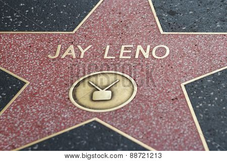 Jay Leno's Hollywood Star