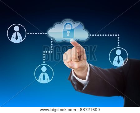 Finger Pointing At Cloud Access In Social Network