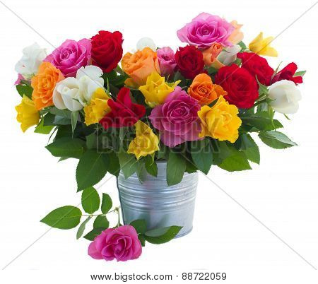 Bouquet Of Fresh Roses