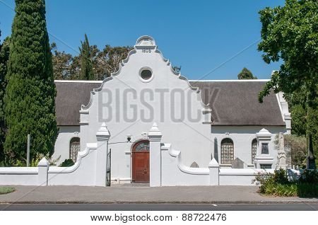 Strooidak (reed Roof) Church In Paarl