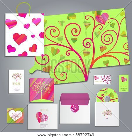 Lovely card or invitation