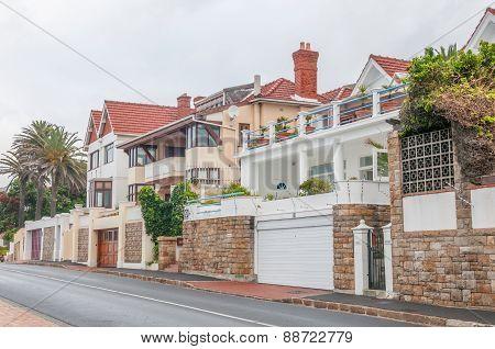Street Scene In St. James, Cape Town