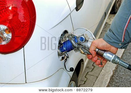 A Car Is Supplied By Gas