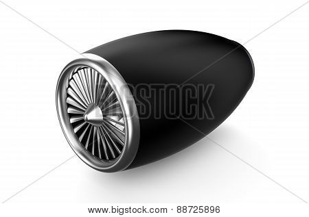 Black Jet Engine