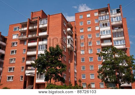 Typical Socialist Blocks of Flats