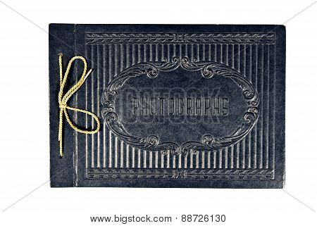 Vintage Black Photo Album