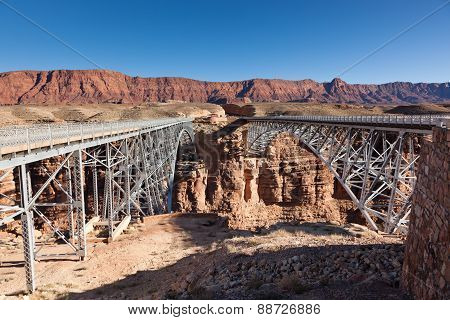 New And Old Navajo Bridges