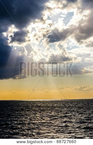 Stormy Clouds Over Baltic Sea